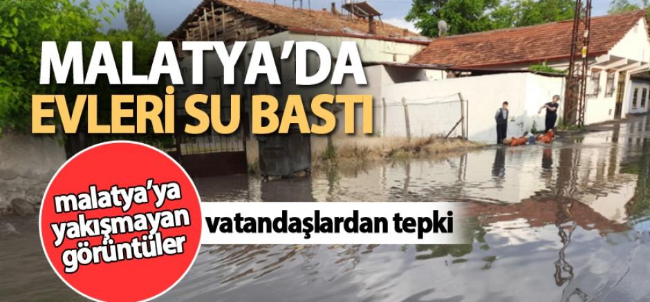 Malatya'da Evleri Su Bastı: Vatandaşlar Yağmur Nöbeti Tutuyor!!