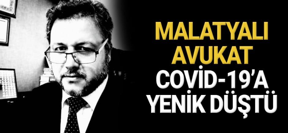 Malatyalı Avukat Naki Çalışkan Covid-19'a Yenik Düştü